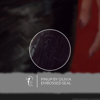 Rachael Fine Art Print by Olivia De Berardinis Pinup by Olivia Embossed Seal on Unframed Print