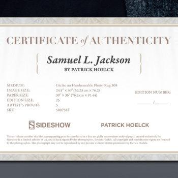 Samuel L. Jackson Deluxe Fine Art Print by photographer Patrick Hoelck