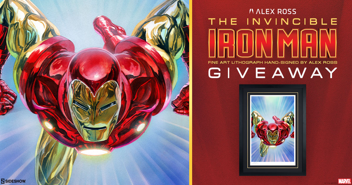 Alex Ross Invincible Iron Man Lithograph
