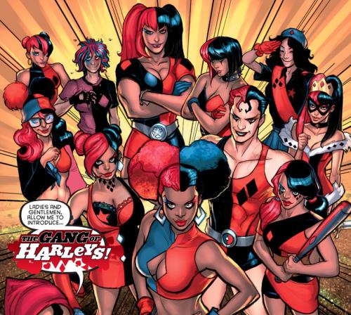 Gang of Harleys Comic Panel