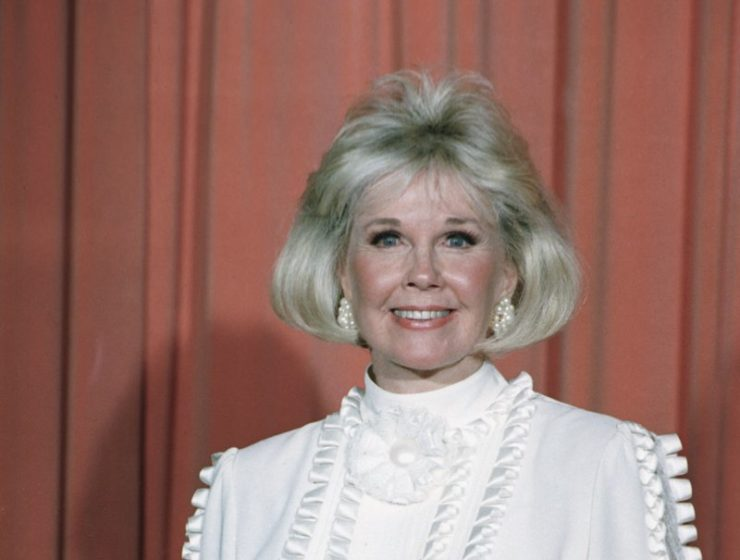 Doris Day Smiling