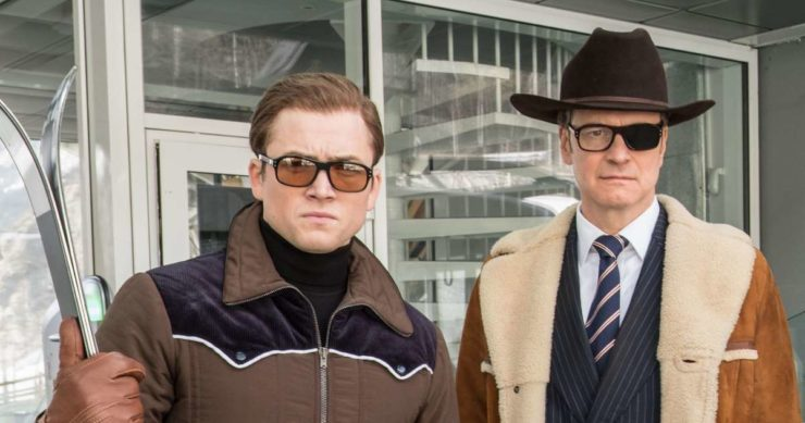 Kingsman 3 with Eggsy and Harry