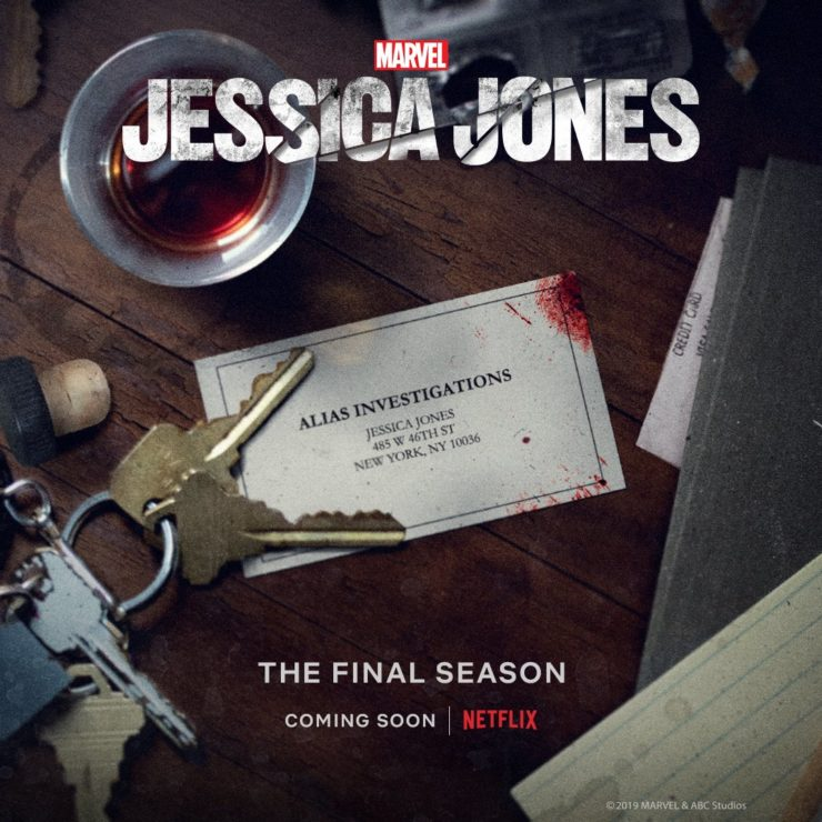 Jessica Jones- Premiering June 2019 on Netflix