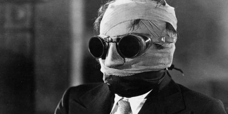 The Invisible Man from the Old Original Film