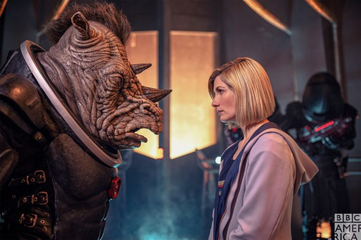 Doctor Who with the Judoon