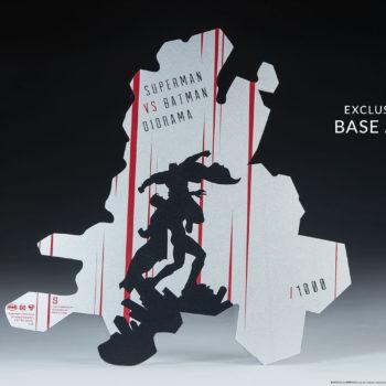 Batman vs Superman Diorama Exclusive Edition Base Artwork