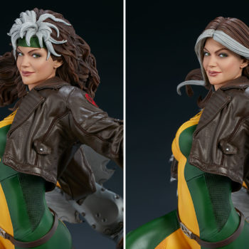 Rogue Maquette Exclusive Edition Swap Out Portrait Comparison with Collector Edition