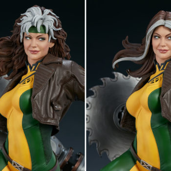 Rogue Maquette Exclusive Edition Swap Out Portrait Comparison with Collector Edition 2