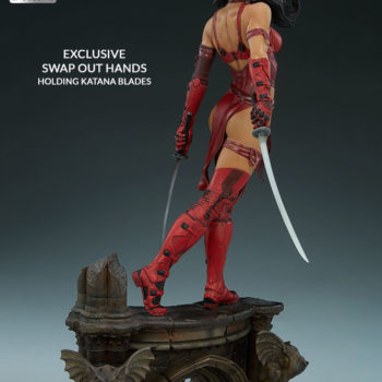 Elektra Premium Format Figure Exclusive Look