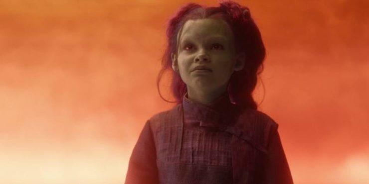 Young Gamora- Ariana Greenblatt