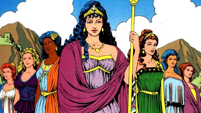 Hippolyta- Top 10 Moms in Comics– Geek Culture Countdown Podcast!