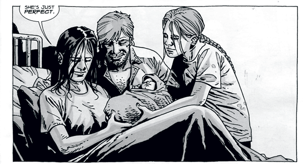 Lori Grimes- Top 10 Moms in Comics– Geek Culture Countdown Podcast!