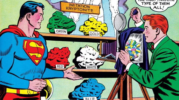 Different Types of Kryptonite and Their Effects