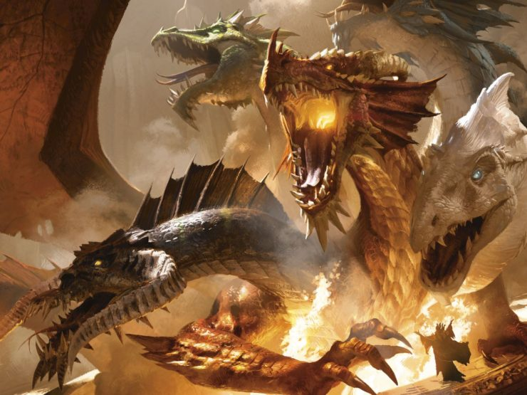 Tiamat from Dungeons & Dragons- Top 10 Dragons in Gaming