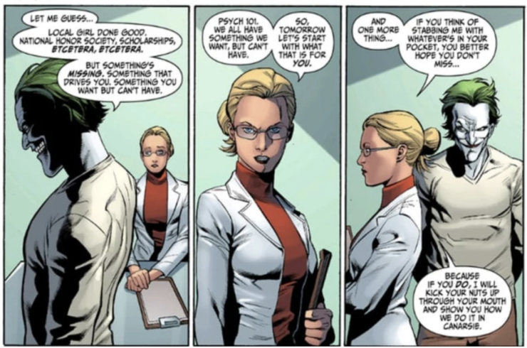 Harleen Quinzell and the Joker Comic