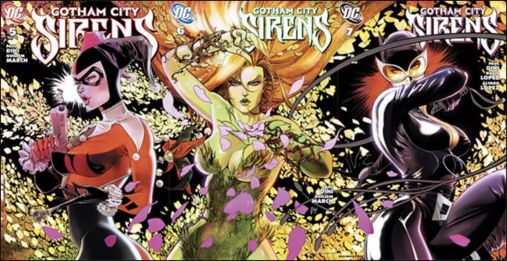 Gotham City Sirens Comic Book Covers