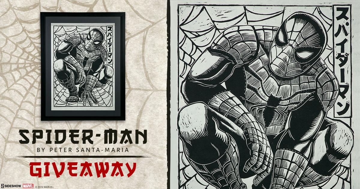 Spider-Man Art Print Giveaway