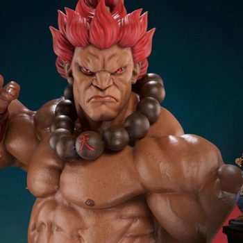 Akuma 10 year Delux from Street Fighter Statue