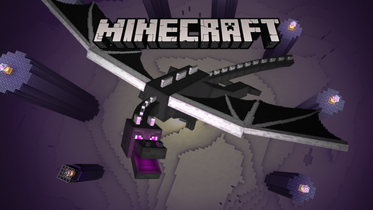 Ender Dragon from Minecraft- Top 10 Dragons in Gaming