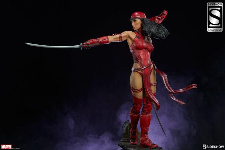 Elektra Premium Format Figure with Katana Extended
