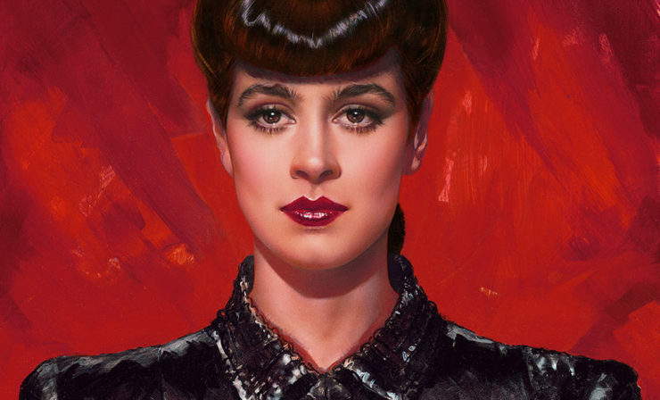 Hunting Replicants? Bring Home the Rachael Fine Art Print by Olivia for Your Blade Runner Collection