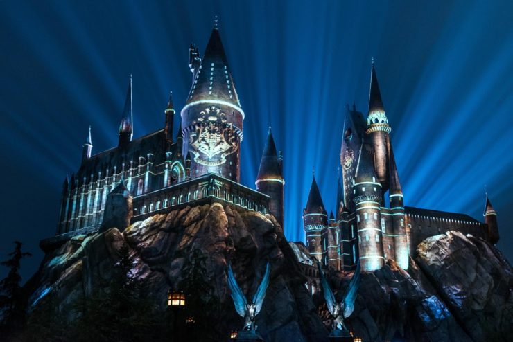 The Wizarding World of Harry Potter- Then & Now