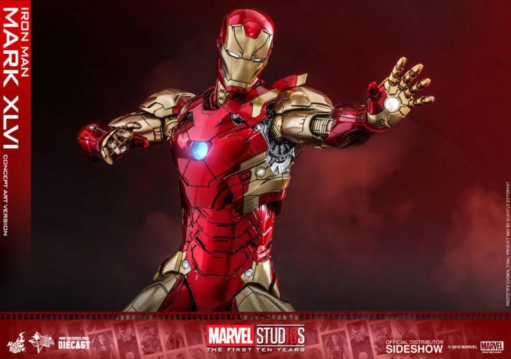 Iron Man Mark 42 Figure