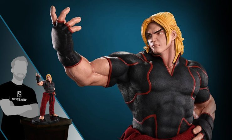 Ken Masters from Street Fighter Statue