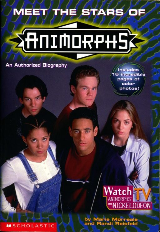 Animorphs by K.A. Applegate- Millennial Sci-Fi Series