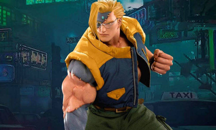 Nash Alpha from Street Fighter Statue