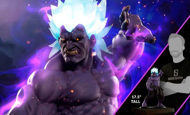 Oni Akuma from Street Fighter Statue