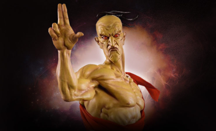 Oro From Street Fighter Statue