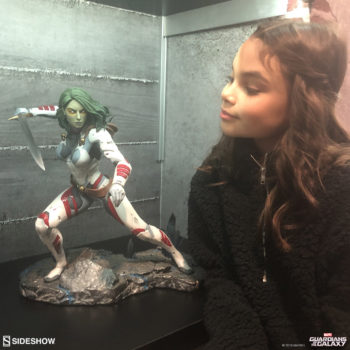 Ariana Greenblatt and the Gamora Premium Format™ Figure