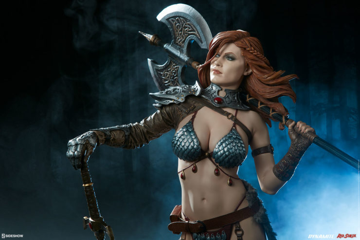 What Makes Red Sonja a Formidable Warrior?