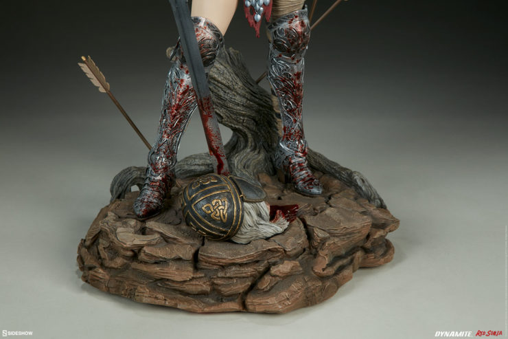 Red Sonja Figure Base