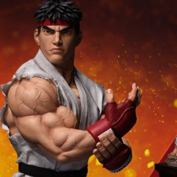 Ryu from Street Fighter Statue