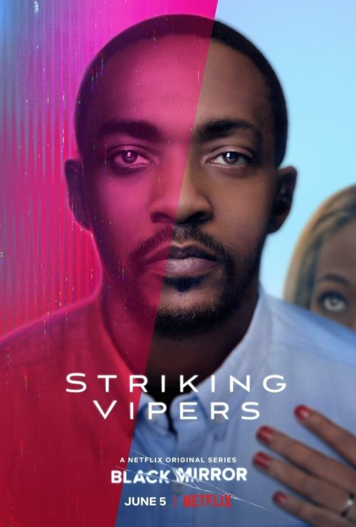 striking vipers black mirror poster