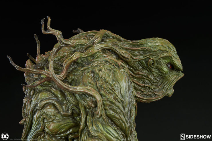 Swamp Thing Maquette Profile View