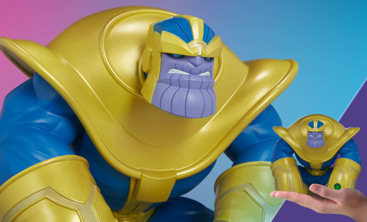 Get a First Look at The Mad Titan Designer Toy from Unruly Industries!