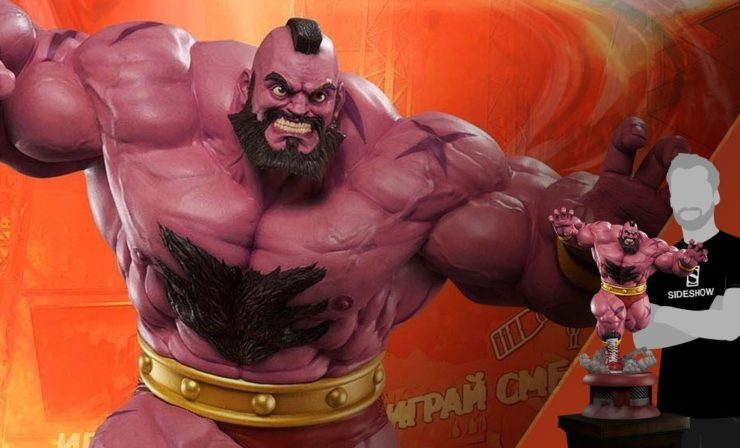 Zangief from Street Fighter Statue