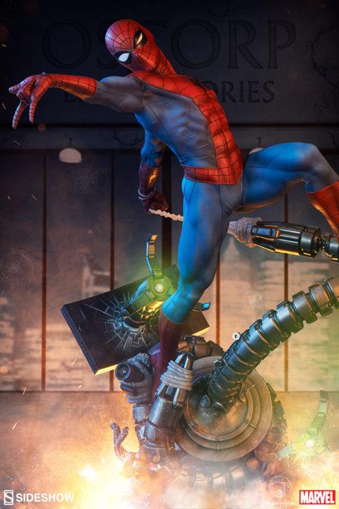 Spider-Man Premium Format™ Figure with Dramatic Background 1