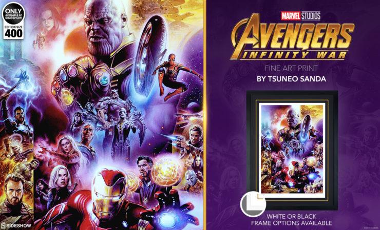 Avengers: Infinity War Fine Art Print