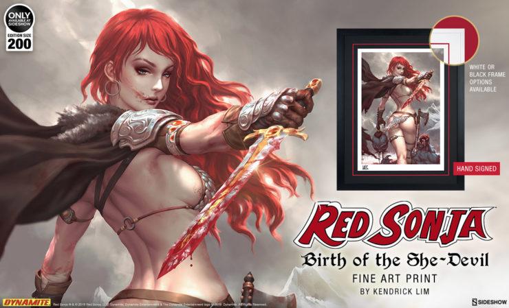 Red Sonja: Birth of the She-Devil Fine Art Print