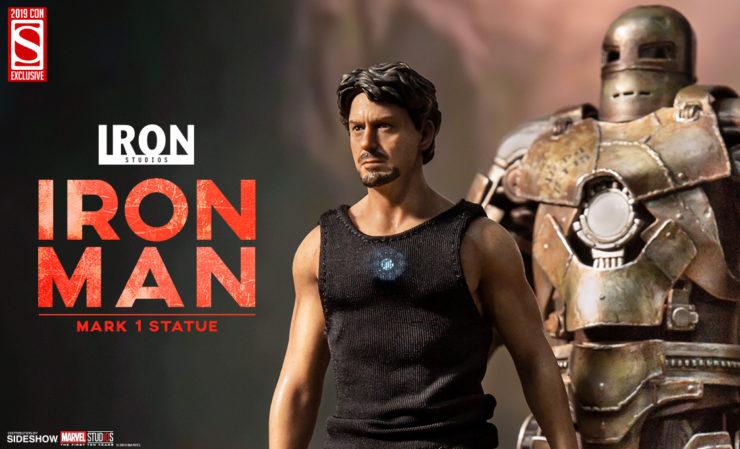Iron Studios Iron Man Mark 1 Statue