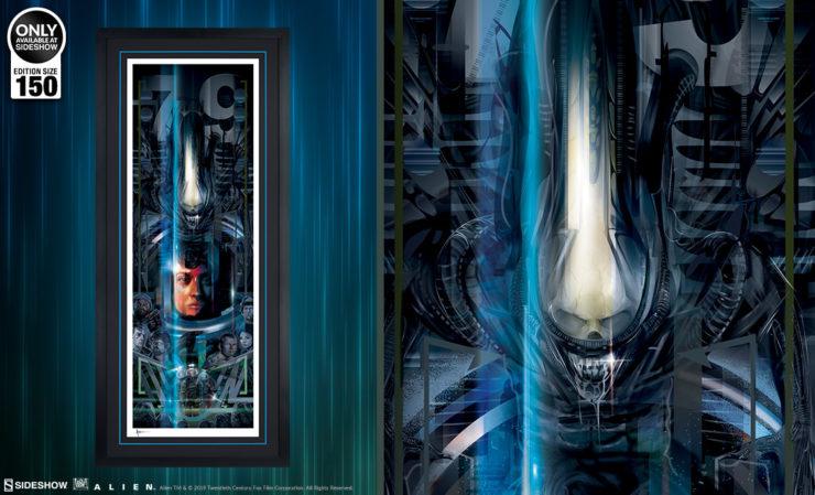 Alien 40th Anniversary Fine Art Print