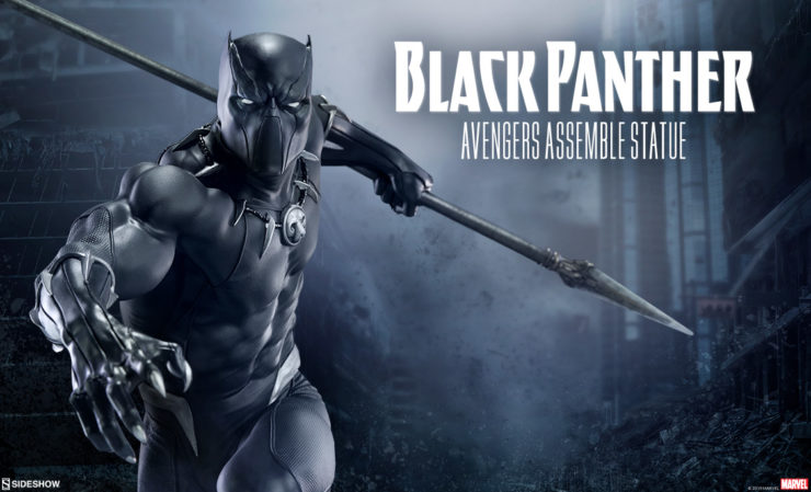 Black Panther Statue – Avengers Assemble Collection