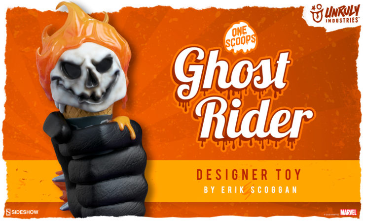 Ghost Rider: One Scoops Designer Toy