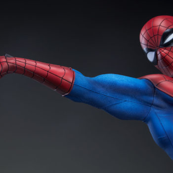 Spider-Man Premium Format™ Figure Detail on Web-shooting Arm