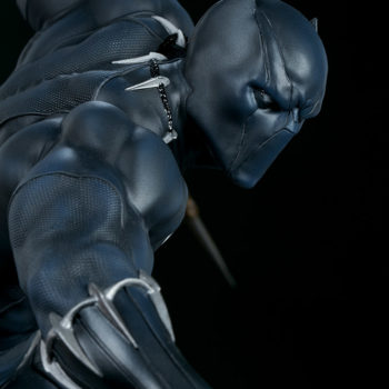 Black Panther Statue- Avengers Assemble Collection Shoulders and Portrait Close Up 1