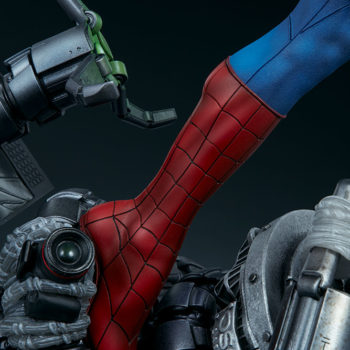 Spider-Man Premium Format™ Figure Leg with Doc Ock Tentacle Detail 3 with Camera in View